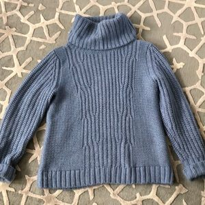 Blue soft cowl neck sweater perfect condition